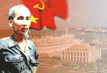 Bác Hồ Cảng Saigon