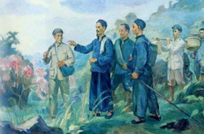 Bác Hồ về nước xuân Tân Tỵ